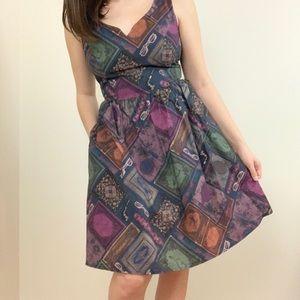 ModCloth To Thrill a Mockingbird Books ALine Dress